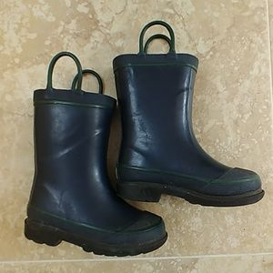Navy blue Western Chief rain boots toddler 9